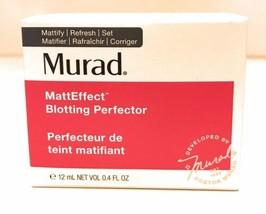 Murad MattEffect Blotting Perfector Mattify Refresh Set 12mL / 04oz New ... - $19.79