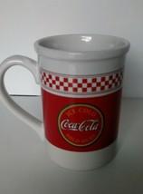 Coca Cola  Brand  Coffee Mug By Gibson - $6.79