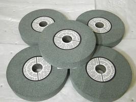 """Bench Grinding Wheels Green 6""""x1""""x1"""" GC60 4138 Max RPM Qty 5 05941158 - $130.00"""