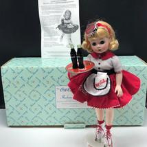 MADAME ALEXANDER DANBURY MINT DOLL COCA COLA CARHOP roller skates porcel... - $77.22