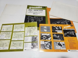 Lot of 2 Ford Mechanic Driveability Manuals-Ignition&Starting with inserts - $29.69