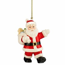 New in Box Lenox Special Delivery Santa Ornament (Undated Version) - £18.25 GBP