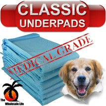 300 Dog Puppy Pads 17x24 Training Wee Wee Chux Pee Potty Housebreaking U... - $42.51
