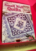 Craft Gift Sew Activity Book Small Wall Quilts Art Project Education Instruction - $18.99