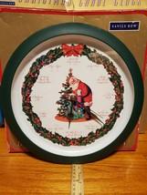 "Christmas Clock 13"" diameter Santa Claus clock NO MUSIC - $20.10"