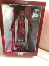 Vintage 2000 African American Barbie Collector Edition Doll Nrfb - $39.59