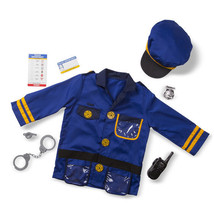 Police Officer Role Play Costume Set 3-6 Years - $30.00