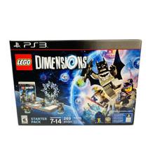 PS3 Playstation 3 Lego Dimensions Starter Pack + Batman + Gandalf + Wild... - $19.79