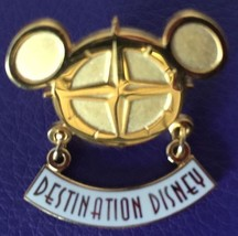 Disney Pins Destination Disney Cast Member Pin 2001 Iconic Mickey Ears Logo - $10.40