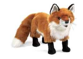Folkmanis Puppets Play Pretend Fun Animal Puppets Red Fox - $49.45