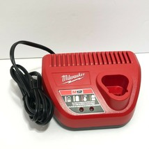 Genuine Milwaukee 48-59-2401 M12 12V 12 Volt Lithium Ion Battery Charger... - $20.95