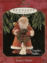Hallmark 1997 Santa's Friend Ornament - MIB - $19.99