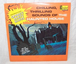 VINTAGE Disneyland CHILLING, THRILLING SOUNDS OF THE HAUNTED HOUSE RECOR... - $14.85