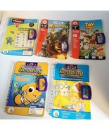 Leap Frog Books Cartridge Reading Lot 5 SK Gr 1 Home School Phonics Mada... - $34.99