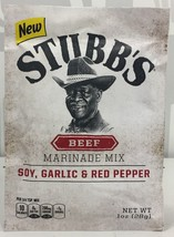 Stubb's Beef Soy Garlic & Red Pepper Marinade Mix 1 oz ( 3 Pack ) Stubbs - €8,03 EUR