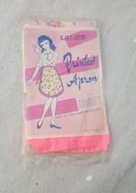 Vintage Vinyl Ladies Apron Floral Printed NOS Sealed Packaging New 60s- 70s - $34.64