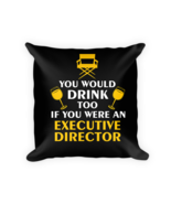 Executive Director gifts - Square Pillow Case w/ stuffing - $23.00