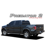 Predator 2 Raptor Style Side Bed Graphics Decals Stripes 2008-2014 Ford ... - $134.99