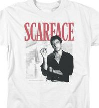 Scarface Retro 80s movie Al Pacino graphic cotton T-shirt UNI1003 image 3