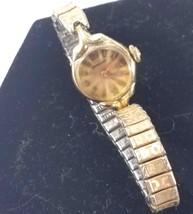 1940s Hamilton Women's Wristwatch Swiss Designed 17 Jewel 10k Rolled Gol... - $39.59