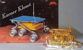 Mattel Diecast Sojourner MARS ROVER 24k Gold Plated NIB - $38.65