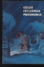 Colds Influenza Pneumonia Booklet Metropolitan Life 1950 - $8.09