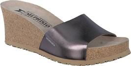 Mephisto Lise Wedge Slide Sandal (Women's) - Bronze Star Metallic Leathe... - $207.85