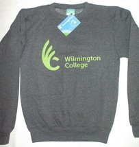 Wilmington College Crewneck Sweatshirt Champion Quakers Eco Fleece Pullo... - $14.80