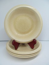 "Franciscan Sea Sculptures Sand 7 1/4""  Soup Salad Bowls Set Of 4 Bowls EC - $28.13"