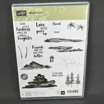 Stampin' Up Waterfront Photopolymer Stamp Set 16 Stamps Friends Kindness... - $19.30