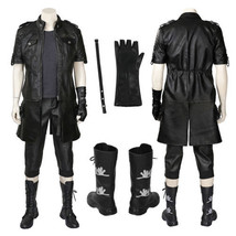 Final Fantasy XV 15 Noctis Lucis Caelum Cosplay Costume Jacket Boots T-s... - $75.23