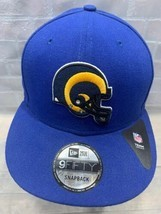 Los Angeles RAMS Football NFL New Era Snapback Adult Cap Hat - £15.64 GBP