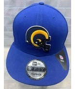 Los Angeles RAMS Football NFL New Era Snapback Adult Cap Hat - £16.17 GBP
