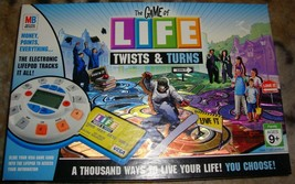 The Game of Life Twists & Turns  Board Game by Milton Bradley - $26.00