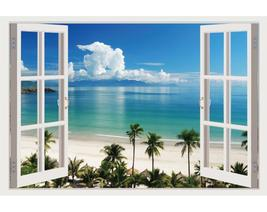 Impressive 3D Window Wall Decals, Removable Wall Stickers, Wall Decor - $29.89+