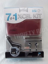 Playtech 7 in 1 Xcel kit for DSi XL Carry Case Earbuds Charger Stylus PD... - $8.90