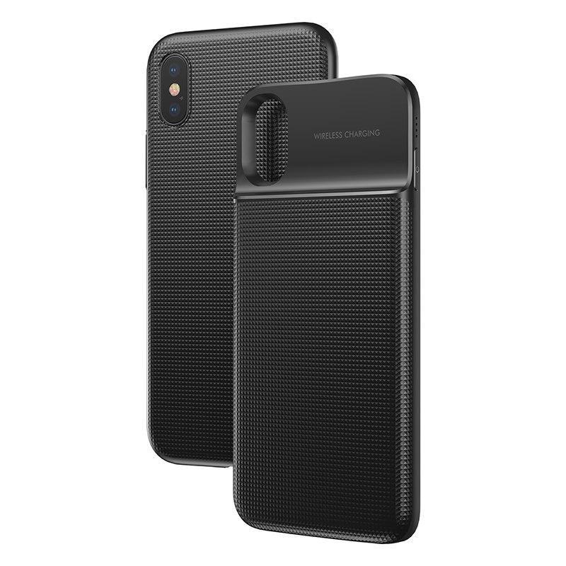 Baseus 5000mAh QI Wireless Charger Case External Battery Wireless Charging image 7