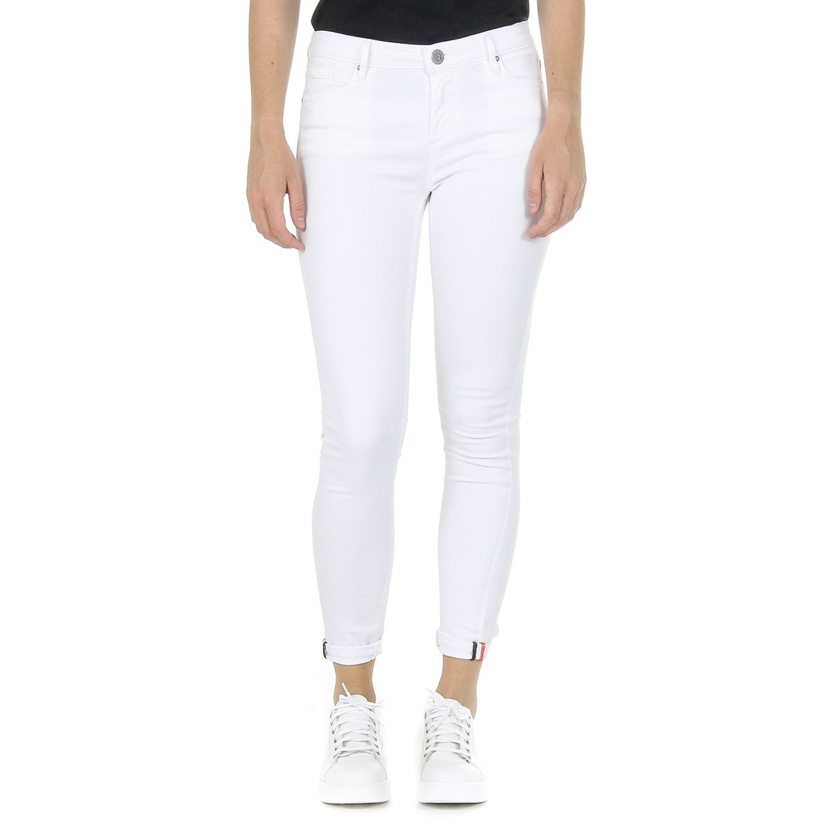 Primary image for Andrew Charles Womens Trousers White CLAIRE