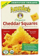 Annie's - Organic Cheddar Squares - 6.75 oz.pack of 2 - $22.76