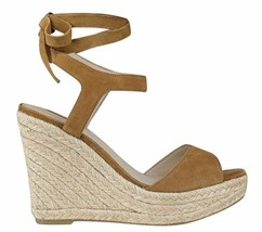 Nib Guess Habbey Wedge Sandals Brown Size 8.5 - $39.59