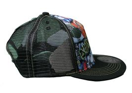 Dunkelvolk Graff World Peruvian Contemporary Art Snapback Baseball Trucker Hat image 5
