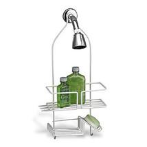 Over the Shower Caddy Hang Bathroom Organizer Storage Basket Soap Holde... - $13.21