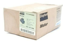 NIB DAYTON 3M568 SHADED POLE MOTOR RPM: 1550 HP: 1/20, 115V, 3PHASE SER. 257126M