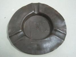 Antique ashtray in copper Pacific Steam Navigation Company PSNC J.S&S En... - $31.28