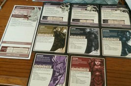D&D WRATH OF ASHARDALON BITS Hero and Villian character card - $13.90