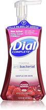 Dial Complete Antibacterial Foaming Hand Soap, Power Berries, 7.5 Fluid ... - $18.28