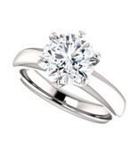 2.00 Carat Ideal Cut Round Brilliant Diamond Solitaire Ring in 14k Gold  - $5,500.00