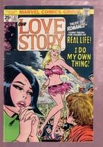 OUR LOVE STORY #37 1975-ROMANCE MARVEL-HOT GO GO DANCER VG/FN - $50.44