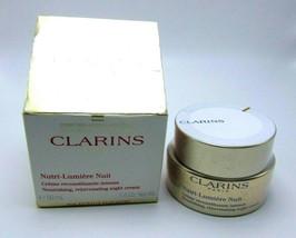 CLARINS NUTRI-LUMIERE NUIT Nourishing Night Cream  1.6oz/50ml NIB - $85.00