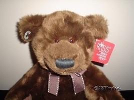 Russ Berrie Larz Bear 23136 Soft Brown Plush 12 inch - $88.88